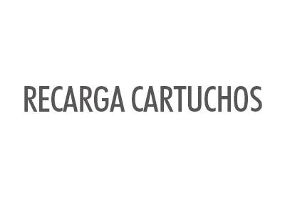 RECARGA CARTUCHOS